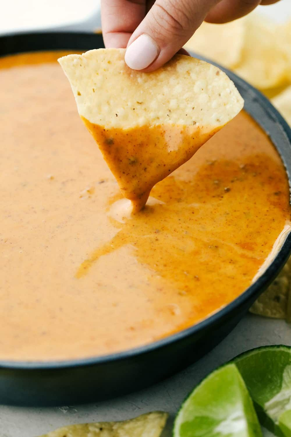Amazing queso that tastes just like Chili's!