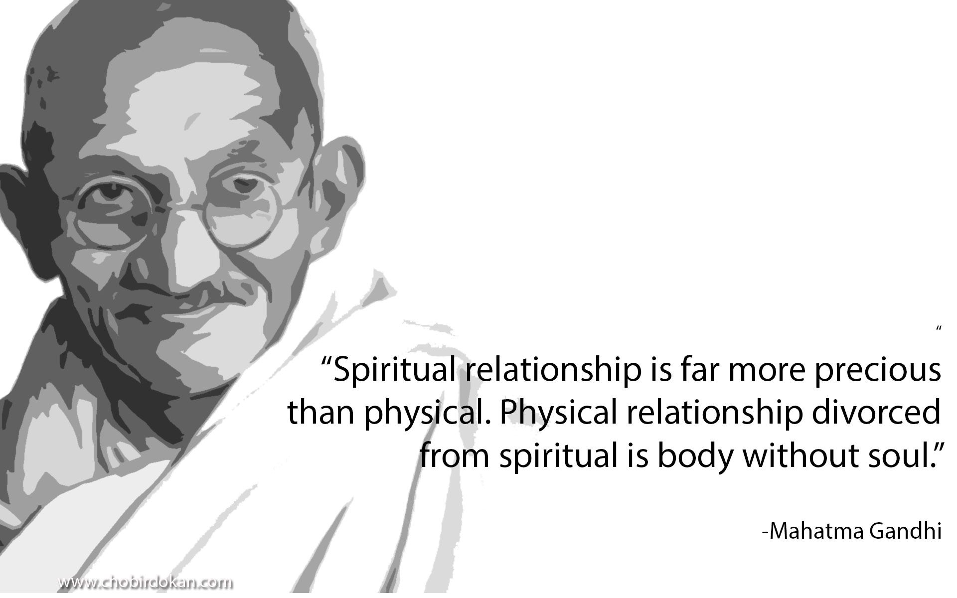 Mahatma Gandhi Love And Life Quotes