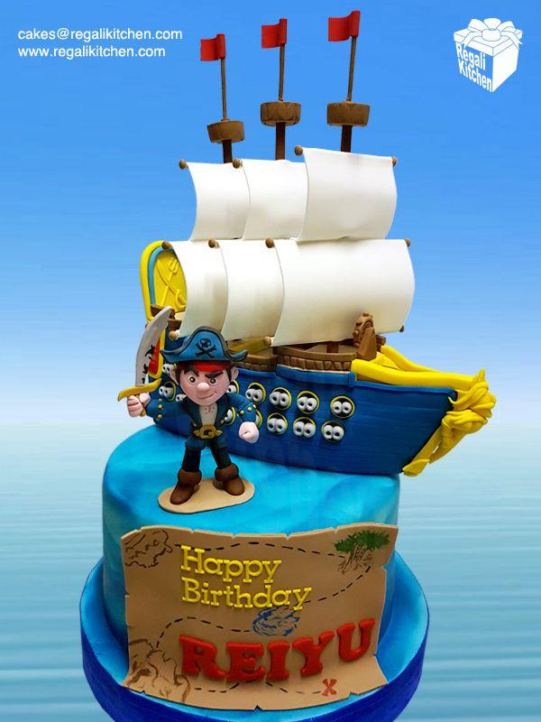 Captain Jake And The Neverland Pirates Cake Pirate Cake Pirate