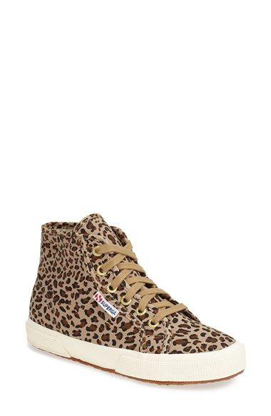 Superga 'Leo' High Top Sneaker (Women