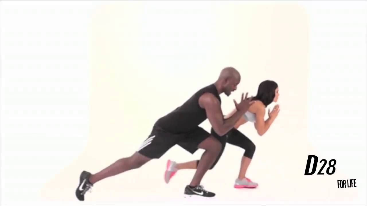 Workout with Robert Brace: Ski Lunges We love exercises that