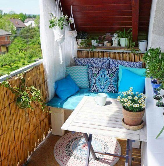 Deck Garden Ideas in 2020 | Small balcony decor, Balcony ...