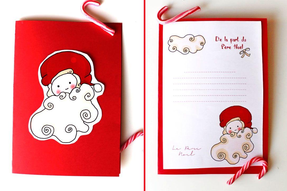 Message Du Pere Noel Gratuit 151207 delaprtduperenoel4 De la part du Père Noël (Free Printable