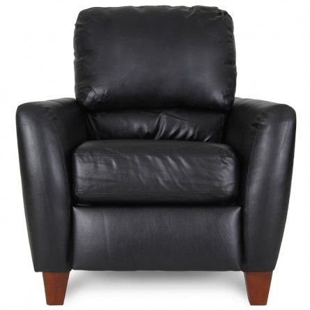 Albany Capri Black Reclining Chair Lazy Boy Recliners Gallery Furniture Wish I Could Talk Him In To Leather