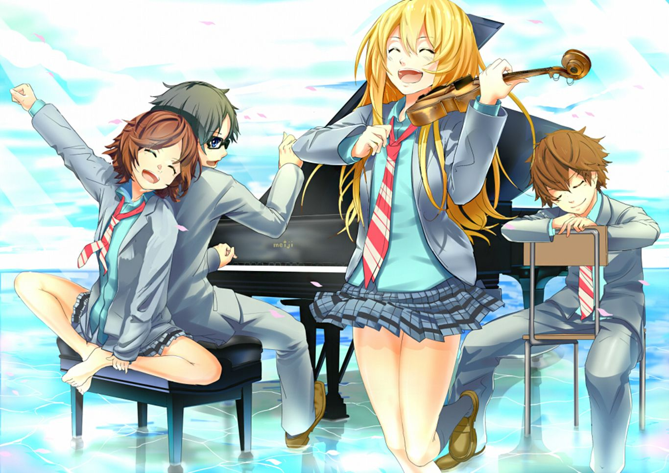 Pin by Mine Victoria on YOUR LIE IN APRIL | Your lie in ...
