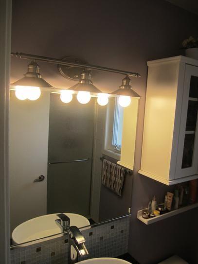 Home Decorators Collection 3 Light Brushed Nickel Retro Vanity 1001564508