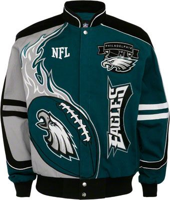 release date 66d31 71a8a Philadelphia Eagles | Philadelphia Eagles Red Zone Jacket ...