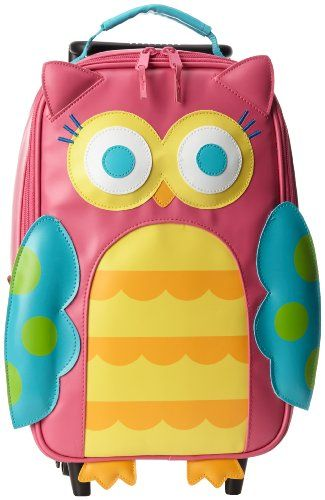 Stephen Joseph Little Girls'  Rolling Backpack, Teal Owl, One Size Stephen Joseph http://www.amazon.com/dp/B00ITY05KY/ref=cm_sw_r_pi_dp_pnzxub1CRF56P