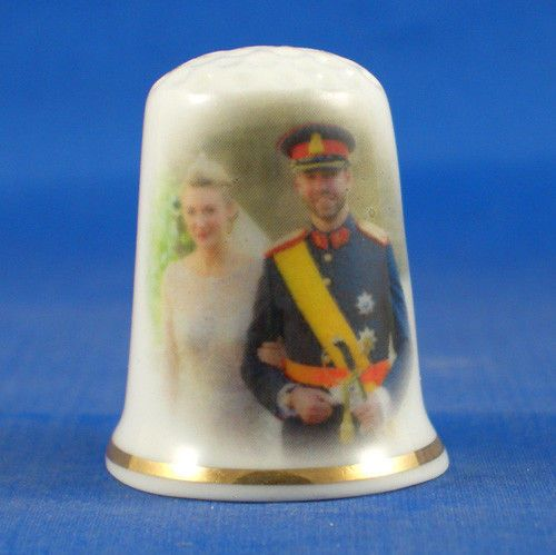 Country Luxembourg Souvenir Thimble