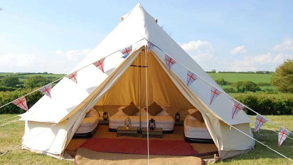 Outdoor Luxury Bell Tent Familytents Campingtents Outdoorgear Luxurygifts Luxurygadgets Campinggear Coolstuff Coolth Tent Glamping Cool Tents Bell Tent