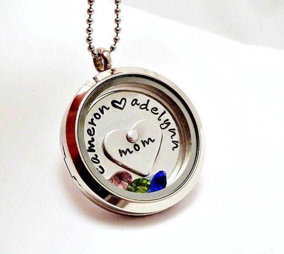 Personalized floating charm locket floating locket charm personalized floating charm locket floating locket charm necklace aloadofball Choice Image