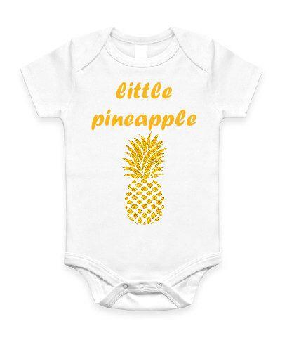 3b13ddf6f078 Little Pineapple Baby Onesie Romper Jumpsuit T shirt