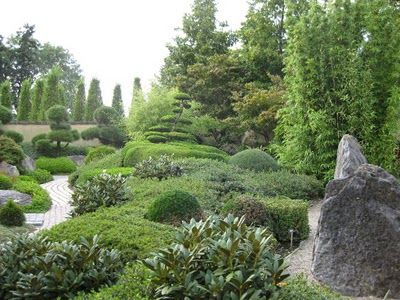 Appeltern Gardens In The Netherlands Is Basically A Permanent Exhibition Park For Show Gardens Which As Of 2 Garden Waterfall Japanese Garden Gorgeous Gardens
