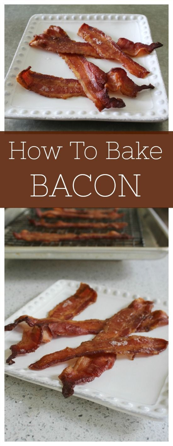 How To Bake Bacon to Crispy Perfection How to Bake Bacon in the Oven | Food Wine Sunshine