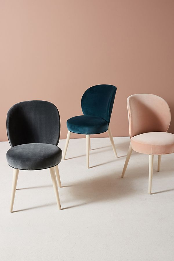 Velvet Remi Dining Chair In 2019 Outdoor Dining Chair
