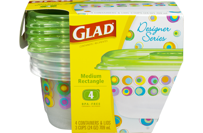 Gladware Designer Series Containers Make It Easy To Pack Away Big Meals While Also Giving Your Fr Food Storage Containers Food Storage Plastic Food Containers