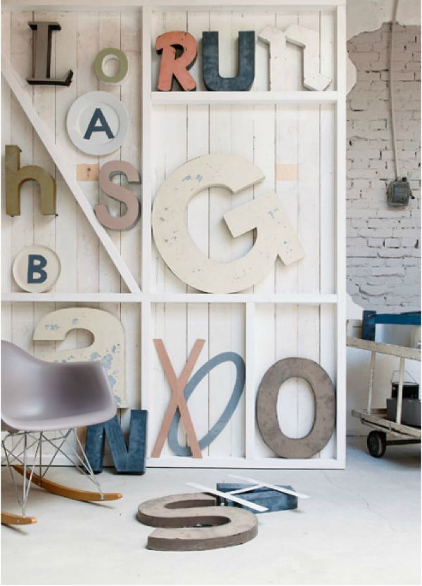 Sierletters Voor Op De Muur.Letters Letters Pinterest 空間