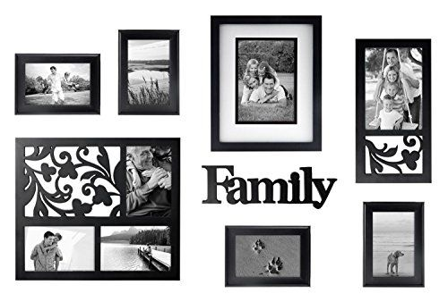Mcs 8 Piece Frame Set With Family Plaque Black Mcs Httpswww