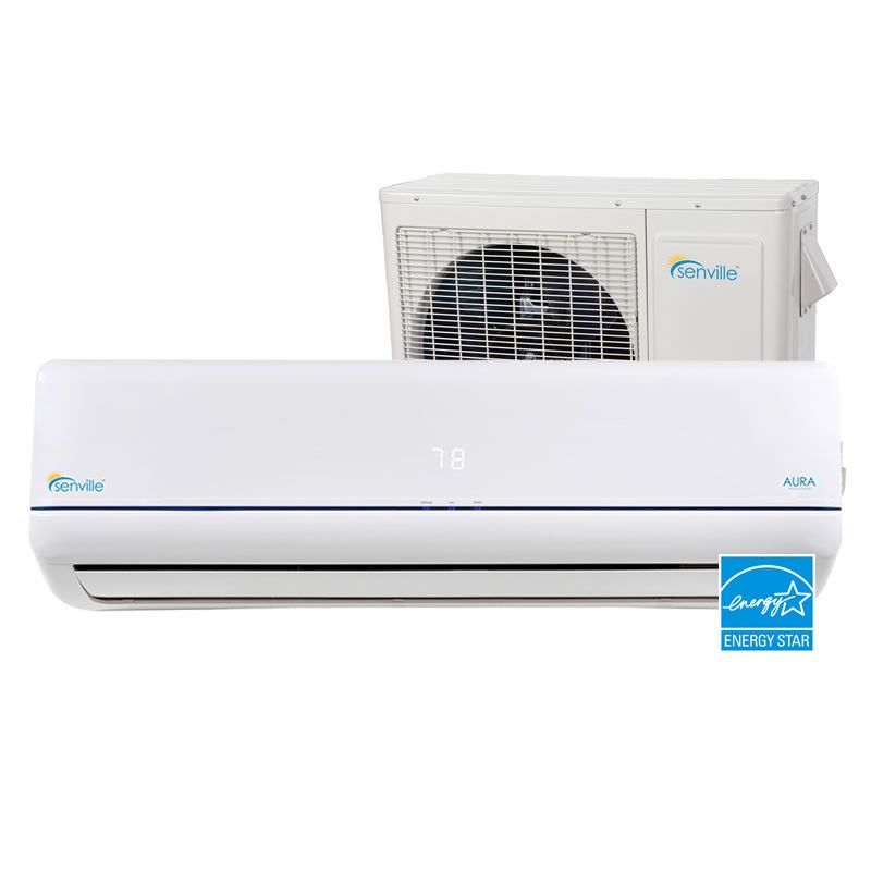 Aura 12 000 Btu Energy Star Ductless Mini Split Air Conditioner