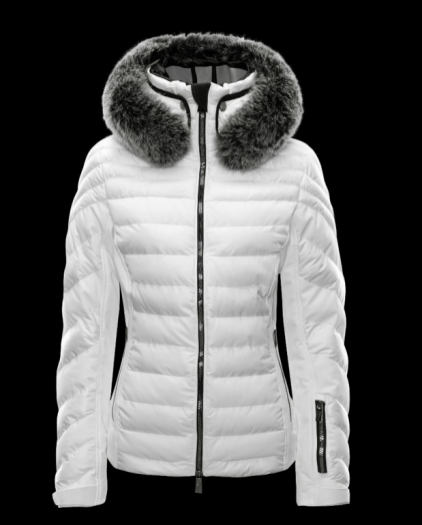 Toni Sailer 2017- 2018 - Dioline Fur White Down Ski Jacket 72dec4241