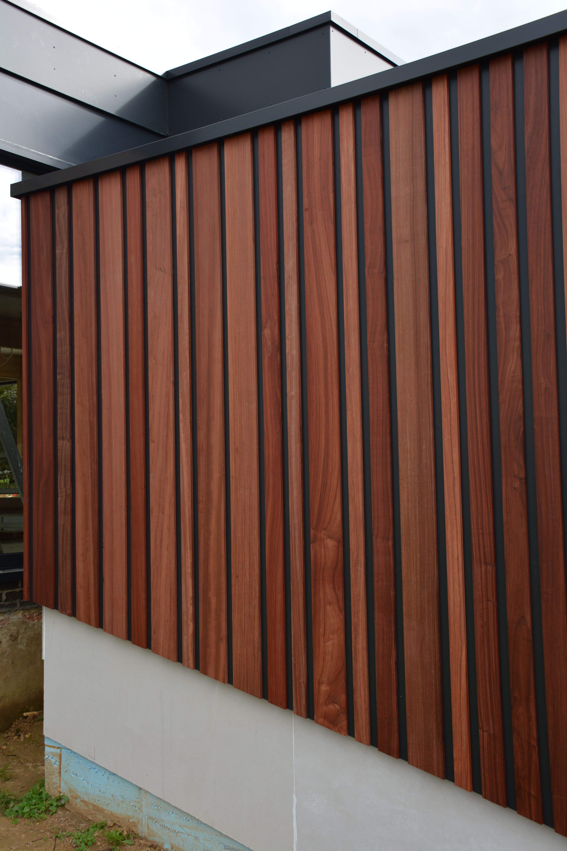 Voorkeur Houten gevelbekleding verticaal | Kiełpin in 2018 | Wood, Wood &JN99