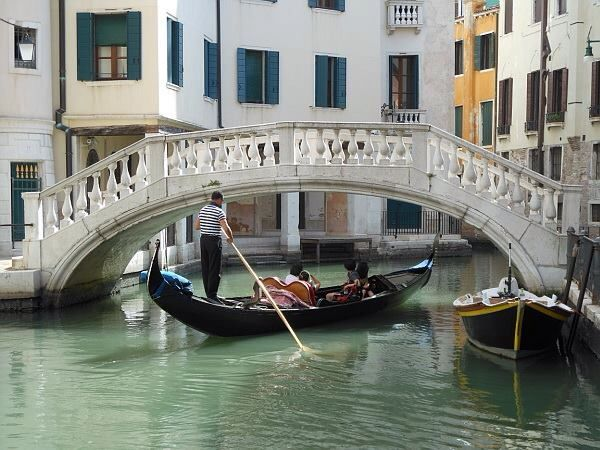 Gondola ride Fabulous even if I'm on my own!!