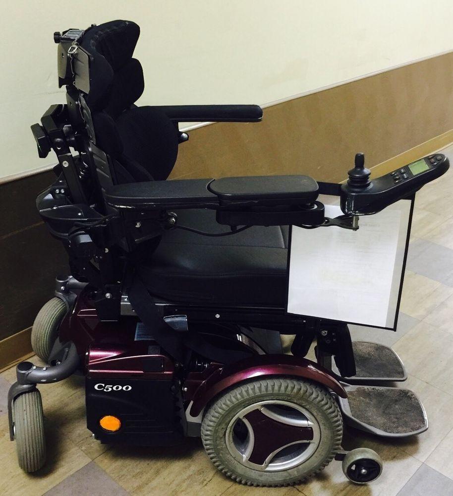 Used Permobile C500 Power Wheelchair Powered Wheelchair
