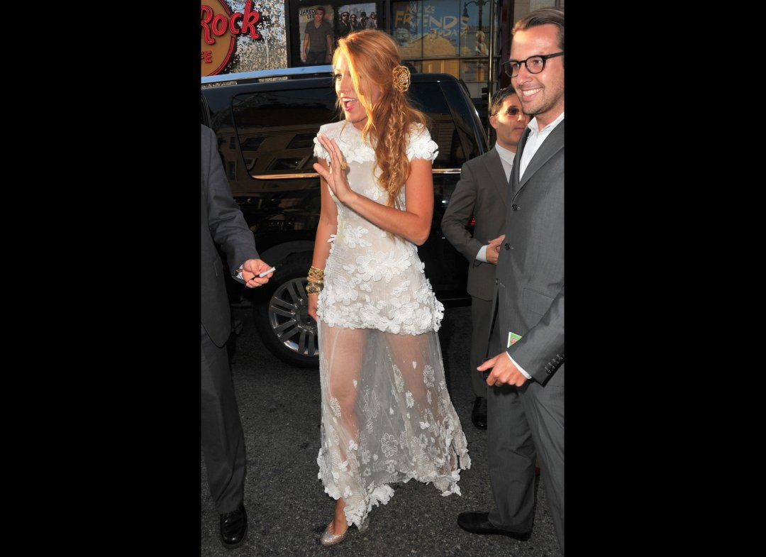 Blake Lively At The 'Green Lantern' Premiere | LOVE this dress!!!!!