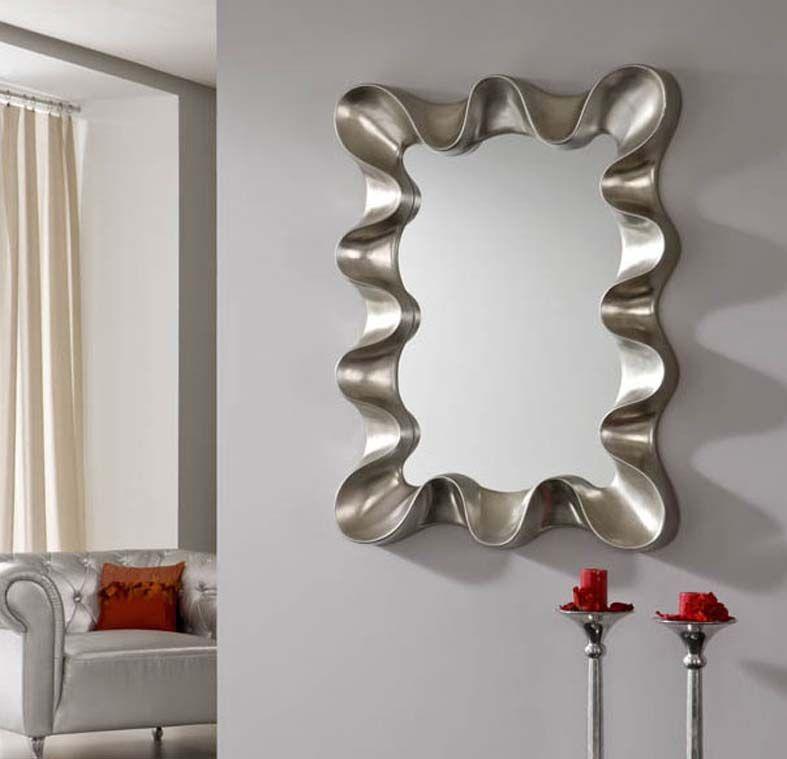 Design Spiegel SOKRATES In Silber. Dekoration Beltrán, Ihr Spiegel Shop Für  Ausgefallene