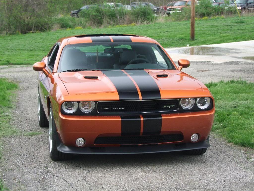 2011 Toxic Orange Challenger Srt8 Rides 2011 Dodge