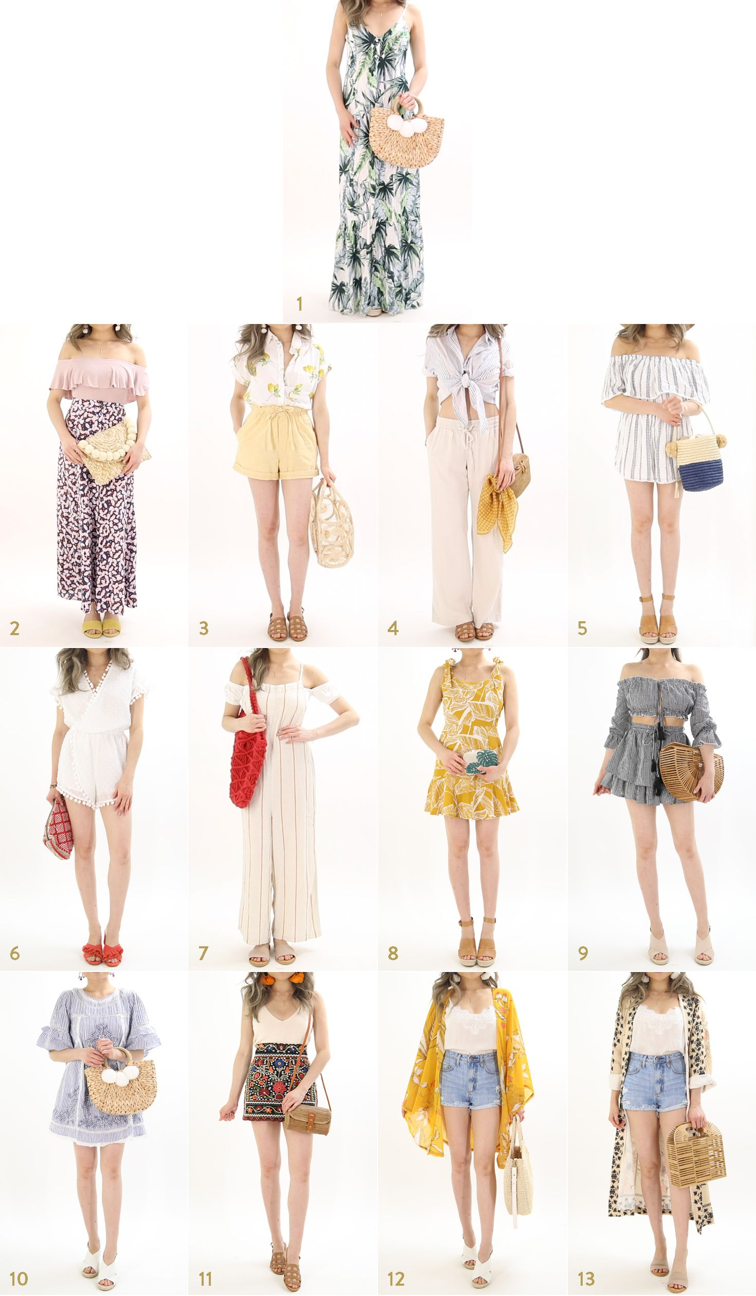 The Ultimate Summer Vacation Outfit Ideas Guide By Miss Louie Summer Fashion Outfits Beach Holiday Outfits Women Holiday Outfits Summer [ 2520 x 1470 Pixel ]