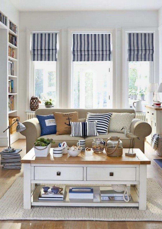 30+ Best Coastal Living Room Decorating Ideas #coastallivingrooms