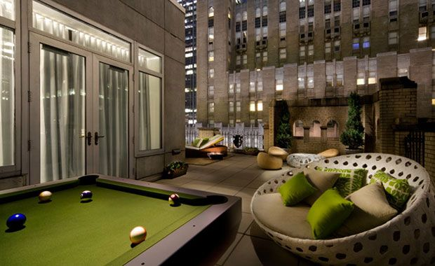 Luxury Hotel Interiors extreme wow suite at the w hotel lexington | hotel design