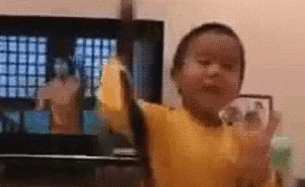 Four-Year-Old Kid Pulls Off a Killer Bruce Lee