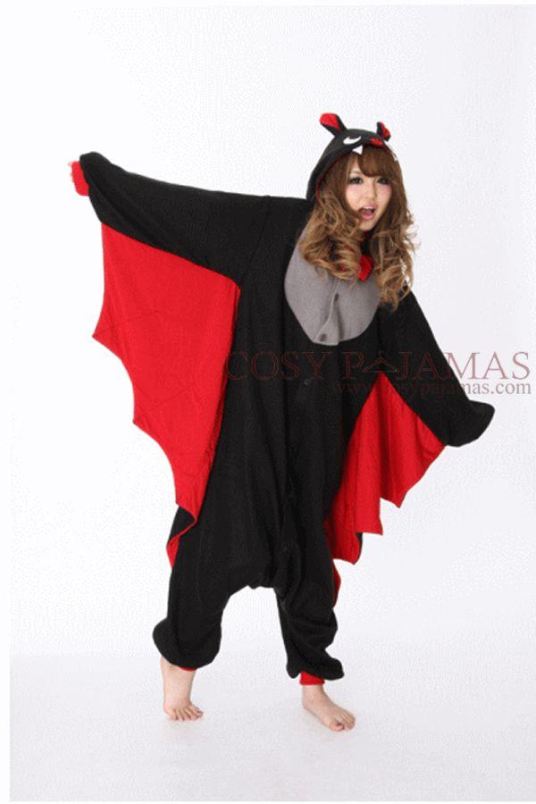 Cheap Halloween Onesies | Halloween Black Bat Adult Onesie Kigurumi Christmas Pinterest