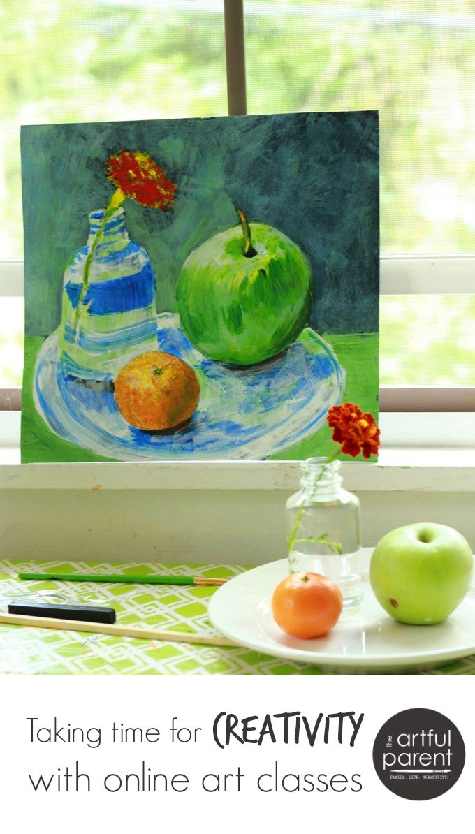 Taking Time for Creativity with Online Painting Classes | The Artful ...