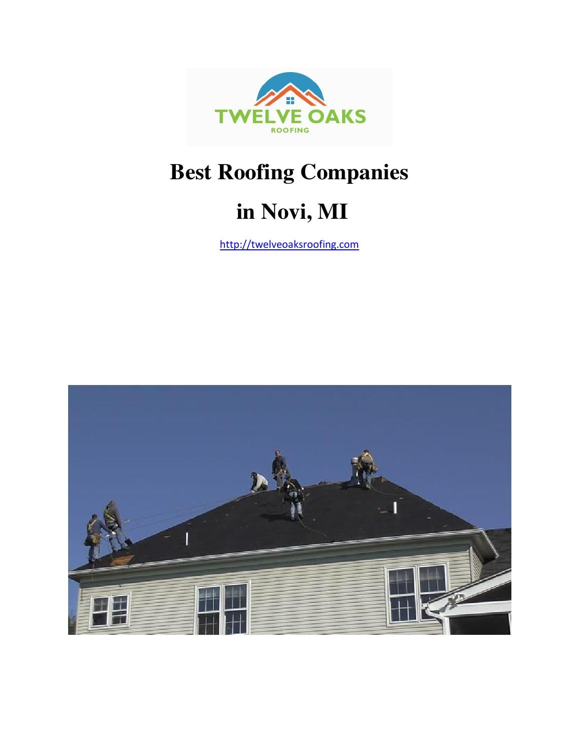Best roofing companies in novi mi roofing companies