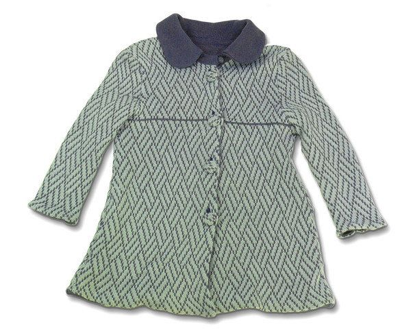 new arrival 6e8b9 8f48b Cappotto maglia lana giacca bimba | fantasia lana | Cappotti ...