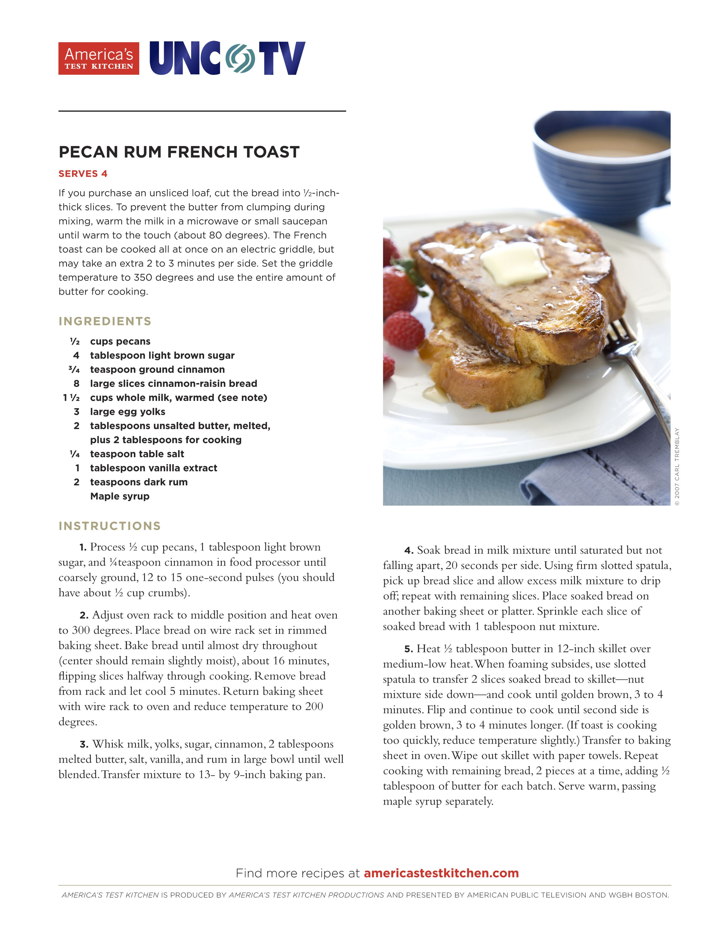 Treat your mom to a Mother\'s Day breakfast with this delicious Pecan ...