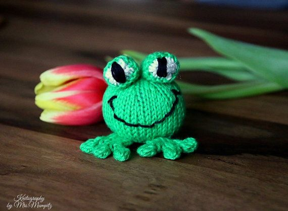 Babs the frog knitting pattern for beginners and advanced knitters babs the frog knitting pattern for beginners and advanced knitters spring gift and decoration negle Gallery