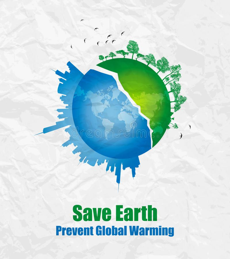 Save Earth Environment Concept Basic Concept Behind This Artwork