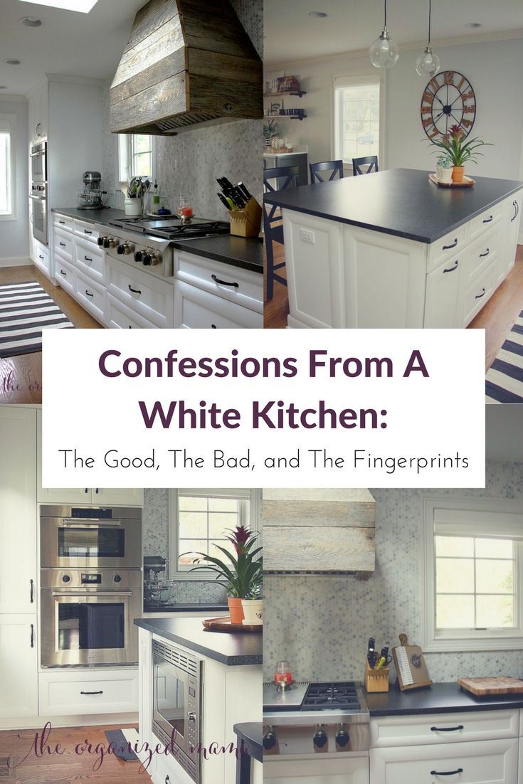 Confessions Of A White Kitchen The Good The Bad And The Finger Prints With Images White Kitchen Remodeling White Modern Kitchen White Kitchen