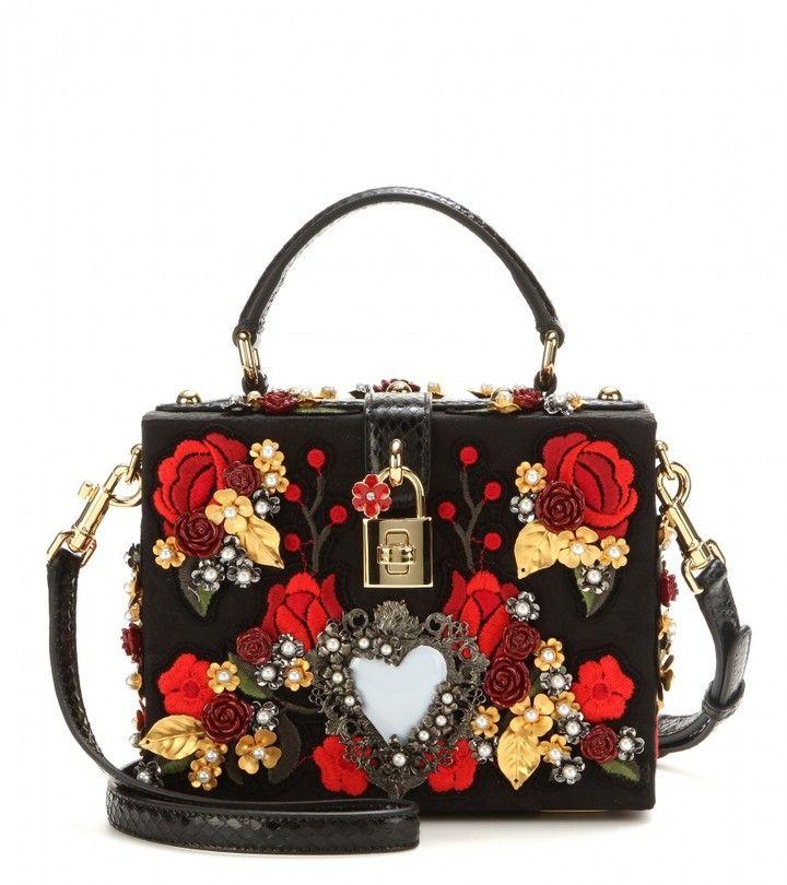 8dad84adea Dolce   Gabbana Embellished box clutch