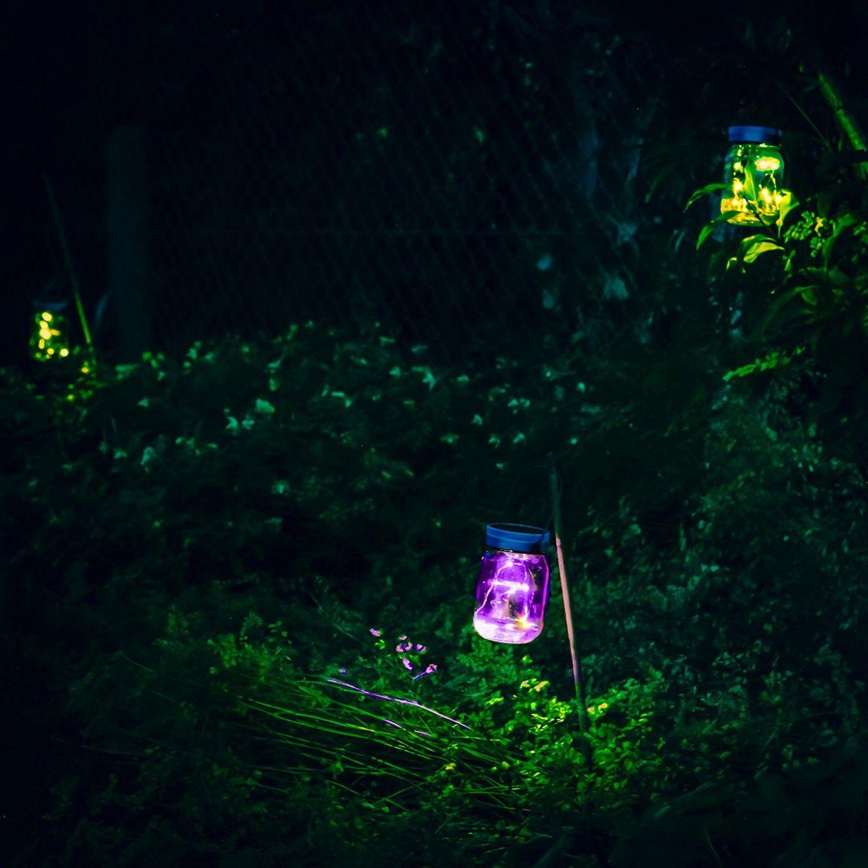 Die solarbetriebenen Einmachgläser Fairy Jars mit LEDs verwandeln jede Party im…