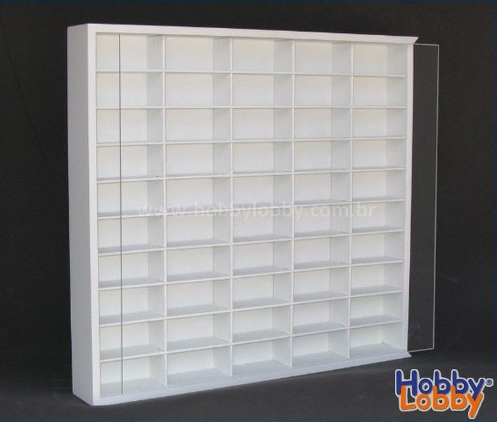 50 Diecast Display Case Hobby Lobby Hot Wheels Storage Display