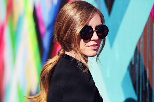 Chiara Ferragni in The Row Eyewear | sunglasscurator.com