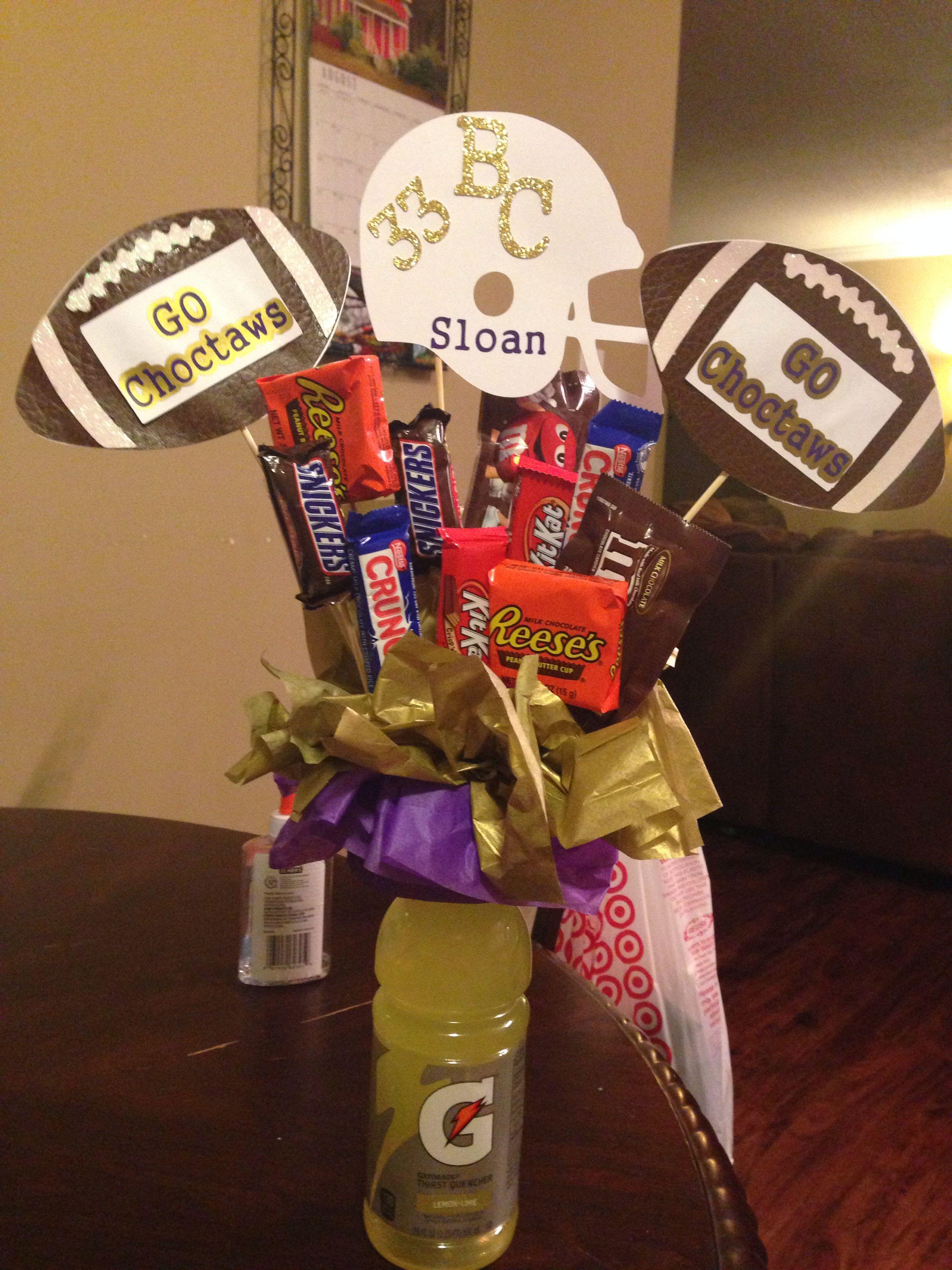 Good Luck Football Gift Football Boyfriend Gifts