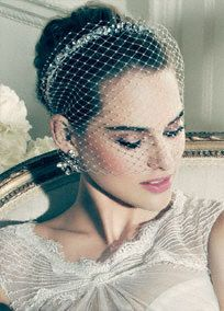 Truly Zac Posen Russian blusher headband with crystal embellishments.  Russian blusher headband features stunning crystal embellishment details.  Available in Ivory. One size.  Imported.   Coming soon to stores and online.