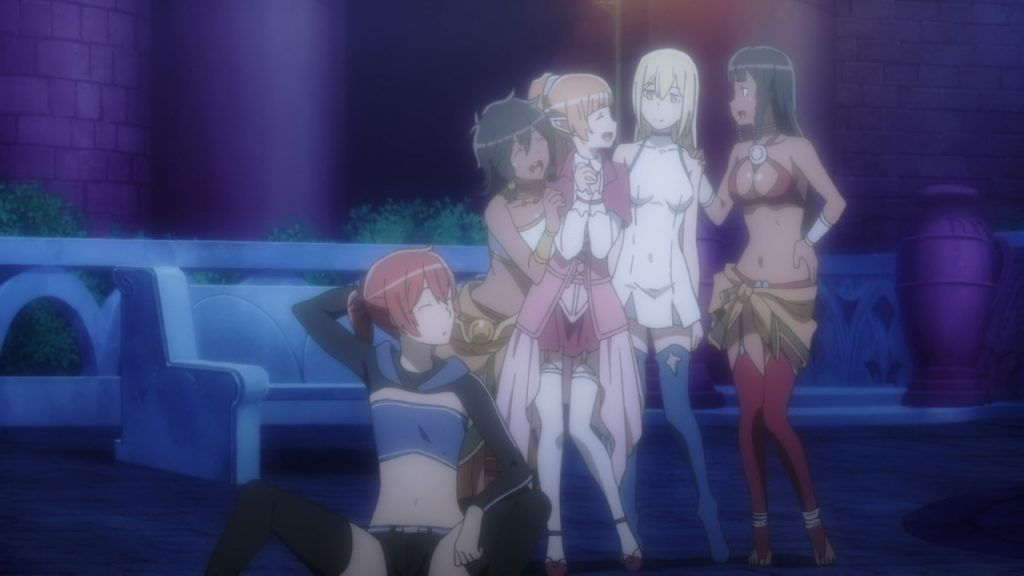 Episode 12 Sword Oratoria/kin of the Gods #Danmachi #Crunchyroll