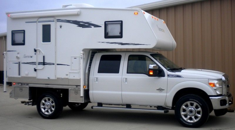 Truck Camper Porch Steps And Handrail With Images Cabover